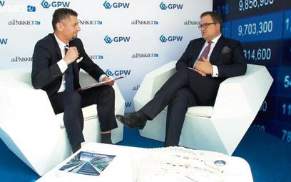 Gościem Andrzeja Steca był Michał Krupiński, prezes Banku Pekao.