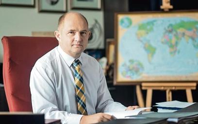 Piotr Całbecki, marszałek województwa kujawsko-pomorskiego od 2006 roku.  Z wykształcenia biolog, ab