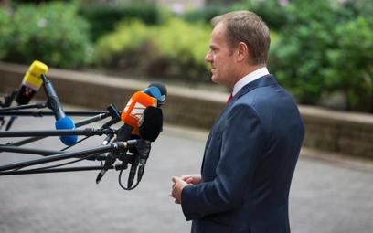 Tusk: strategia energetyczna UE powinna wykluczać Nord Stream 2