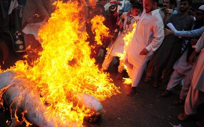 Antyindyjska demonstracja w Karaczi