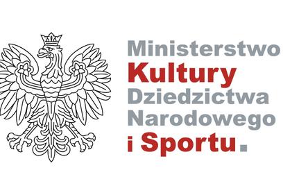Ministerstwo kultury zgubiło przecinek we własnym logo
