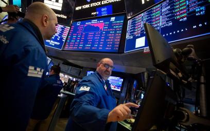 Przecena na Wall Street