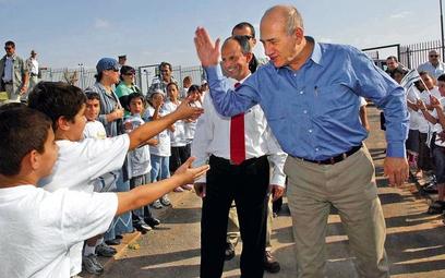 Ehud Olmert przed Annapolis