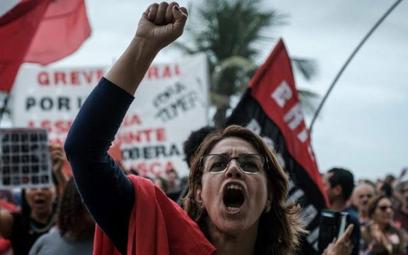 W Rio deJaneiro protestowano przeciwko całej klasie politycznej