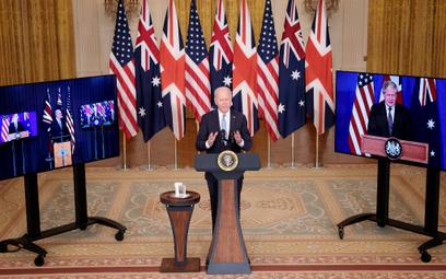 Strach przed Chinami. USA, Wielka Brytania i Australia ogłaszają partnerstwo