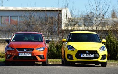 Suzuki Swift Sport vs. Seat Ibiza 1.5 TSI: W poszukiwaniu sportowych doznań
