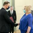 Prezydent Andrzej Duda powołuje Małgorzatę Manowską na stanowisko Pierwszego Prezesa Sądu Najwyższeg