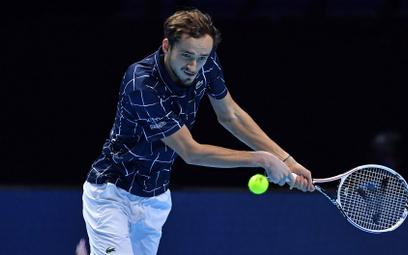 Daniił Miedwiediew pierwszy raz awansował do finału turnieju Masters