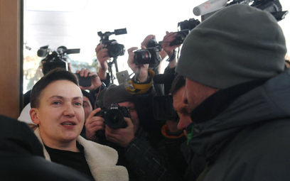 Sprawa Sawczenko: Frustracja z granatem w torbie