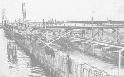 Budowa portu Gdynia