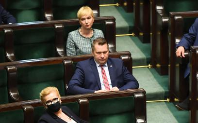 Mirosława Stachowiak-Rózecka i Przemysław Czarnek