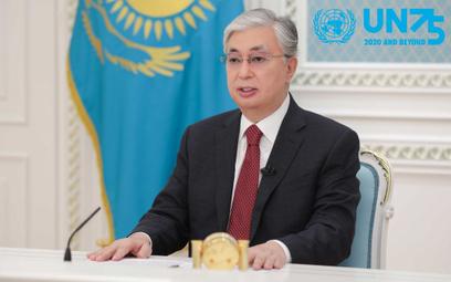 Prezydent Kazachstanu wystąpił w ramach debaty generalnej 75. sesji Zgromadzenia Ogólnego ONZ