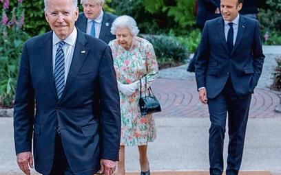 Joe Biden spotkał się z najważniejszymi postaciami europejskiej polityki, m.in. królową Elżbietą II,