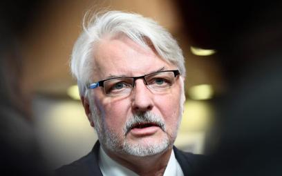 Witold Waszczykowski uważa, że działania rządu są zgodne ze standardami UE