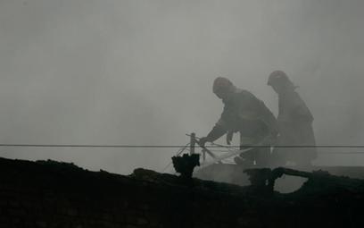 Płonie rafineria w Rosji