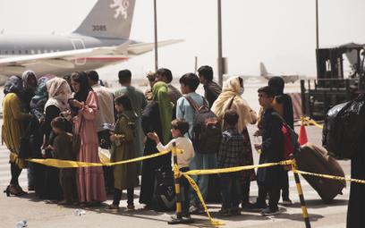 Ewakuacja z Afganistanu. Zachód nie jest gotowy przyjąć wszystkich