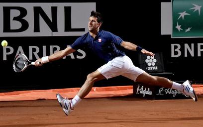 Turniej ATP w Rzymie: Łatwa wygrana Djokovica w półfinale