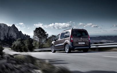 Peugeot Partner: Joystick zamiast kierownicy