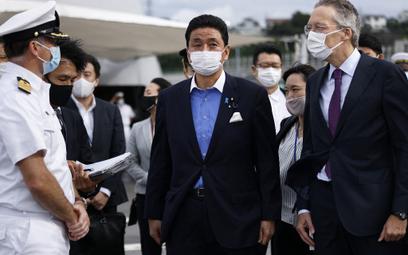 Minister obrony Japonii Nobuo Kishi