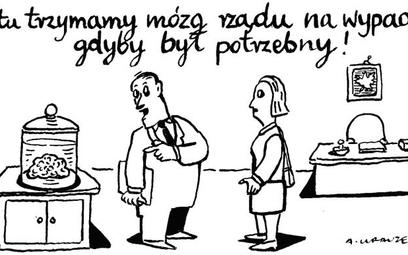 Andrzej Krauze: Komentarz rysunkowy