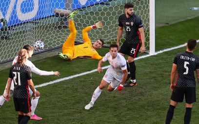 Euro 2020. Osiem bramek w meczu Chorwacja-Hiszpania