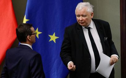 Utworzenie komitetu na czele z Jarosławem Kaczyńskim osłabi pozycję Mateusza Morawieckiego