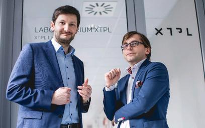 Twórcy XTPL (od lewej) prezes Filip Granek i Maciej Adamczyk, członek zarządu i dyrektor operacyjny.