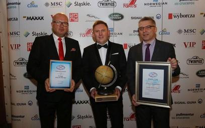 od lewej: szef śląskiego odziału PIT Grzegorz Chmielewski, prezes Atlas Tours Marek Piksa i prezes P