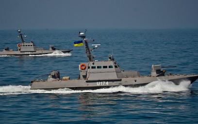 """Kuter opancerzony """"Berdiańsk"""" (U174) zajęty przez rosyjskie siły specjalne"""