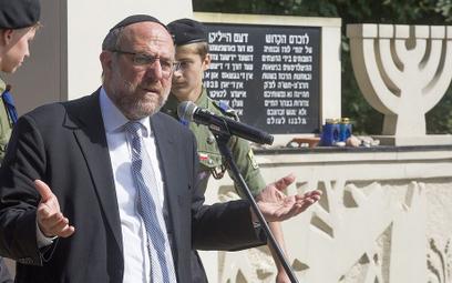 Michael Schudrich, Naczelny Rabin Polski: Stawianie zarzutu antysemityzmu wszystkim Polakom znieważa też nas