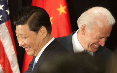 Według Amerykanów Chiny są państwem o tendencjach imperialnych. Na zdjęciu przywódcy obu państw – Xi