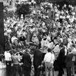Pamięć o Bitwie Warszawskiej i jej bohaterach przetrwała dekady PRL. Na zdjęciu odsłonięcie pomnika