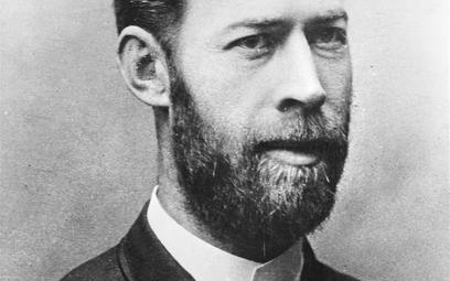 Heinrich Hertz (1857–1894), niemiecki fizyk, odkrywca fal elektromagnetycznych