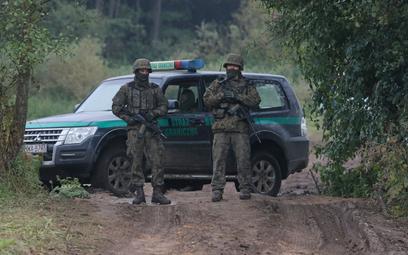 Straż Graniczna: Przy granicy z Białorusią zmarł migrant z Iraku