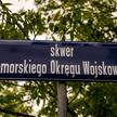 Skwer Pomorskiego Okręgu Wojskowego w Bydgoszczy