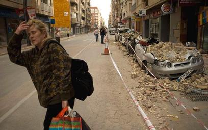 Lorca liczy straty po trzęsieniu ziemi