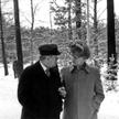 Helmut Schmidt i Erich Honecker podczas wizyty kanclerza RFN w NRD. Grudzień 1981 r.