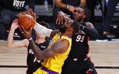 Finał NBA: Heat zgaszeni obroną