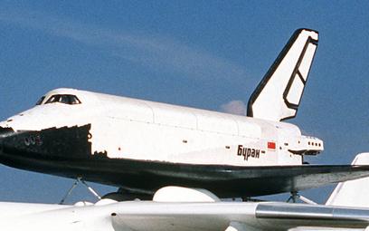 Buran na grzbiecie samolotu transportowego An 225