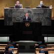 Prezydent Andrzej Duda przemawia na forum Zgromadzenia Ogólnego ONZ