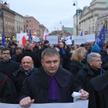 Marsz Tysiąca Tóg w Warszawie w styczniu 2020 r.