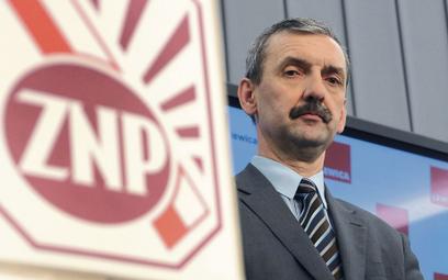 Sławomir Broniarz, prezes ZNP