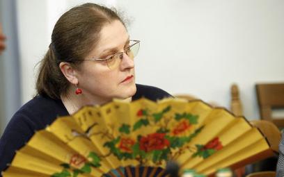 Krystyna Pawłowicz żegna się z polityką