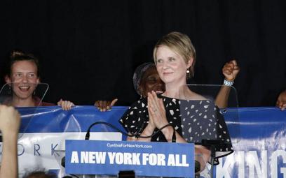 """Aktorka Cynthia Nixon z """"Seksu w wielkim mieście"""" nie będzie gubernatorem w Nowym Jorku"""