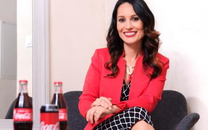 Natalia Stroe, dyrektor generalna Polski i krajów bałtyckich w Coca-Cola Poland Services.