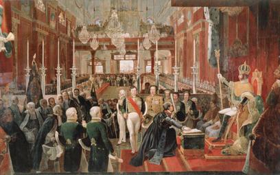 Koronacja Piotra I na cesarza Brazylii (1 grudnia 1822 r.) – obraz Jeana-Baptiste'a De