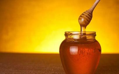 Kilogramy miodu od pszczół z biurowca