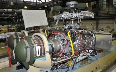 Układ napędowy śmigłowca Sokół tworzą dwa silniki PZL-10W i przekładnia główna WR-3. Fot./Andrzej Ki