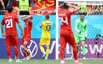 Euro 2020: Druga porażka Macedonii Północnej. Ukraina z szansą na awans