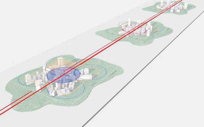 The Line ma być miastem przyszłości, ciągnącym się w linii prostej przez 170 kilometrów saudyjskiej